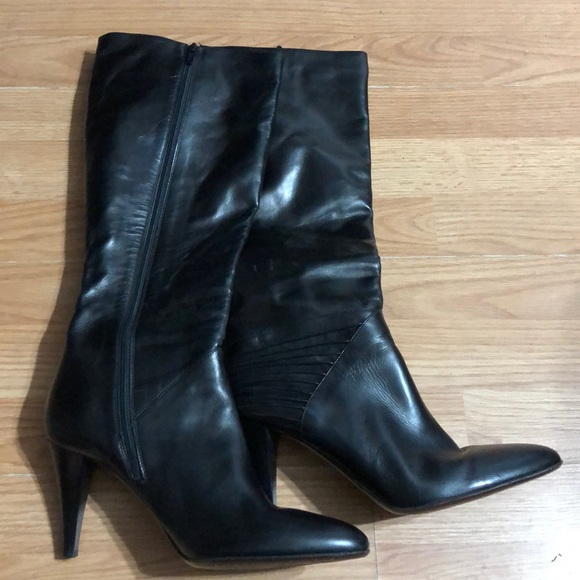 Cole Haan Knee High Boots Black 10B